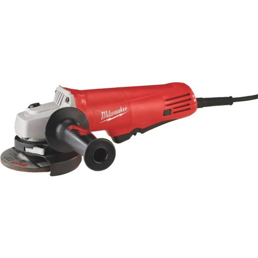 Milwaukee 4-1/2 In. 7.5A 10,000 rpm Angle Grinder