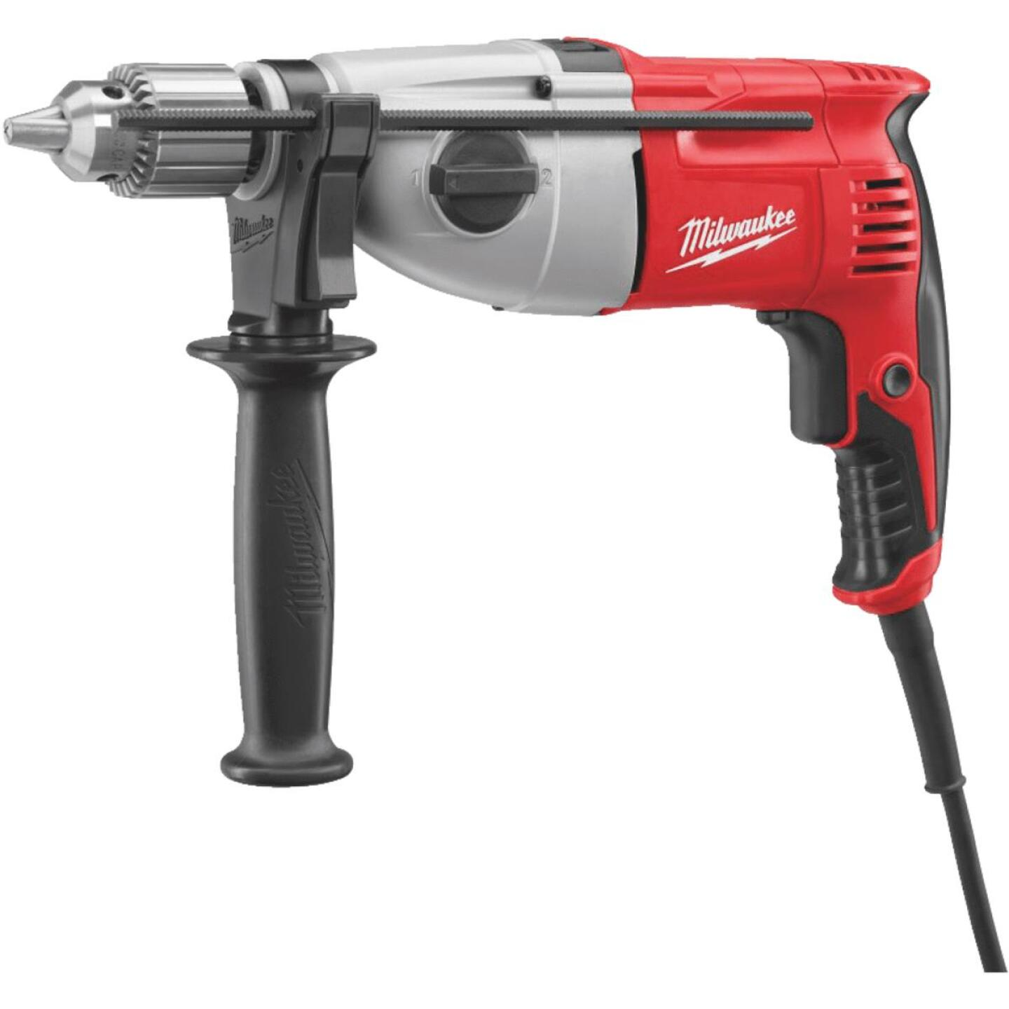 Milwaukee 1/2 In. 7.5A Electric Hammer Drill Image 1