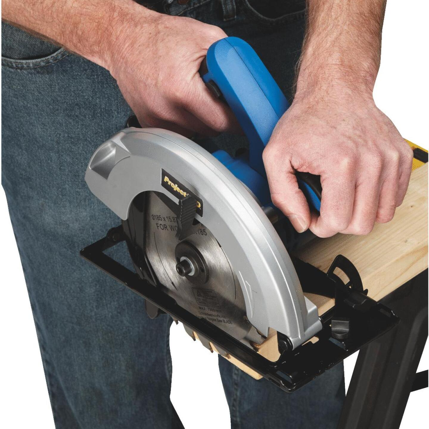 Project Pro 7-1/4 In. 12-Amp Circular Saw Image 4