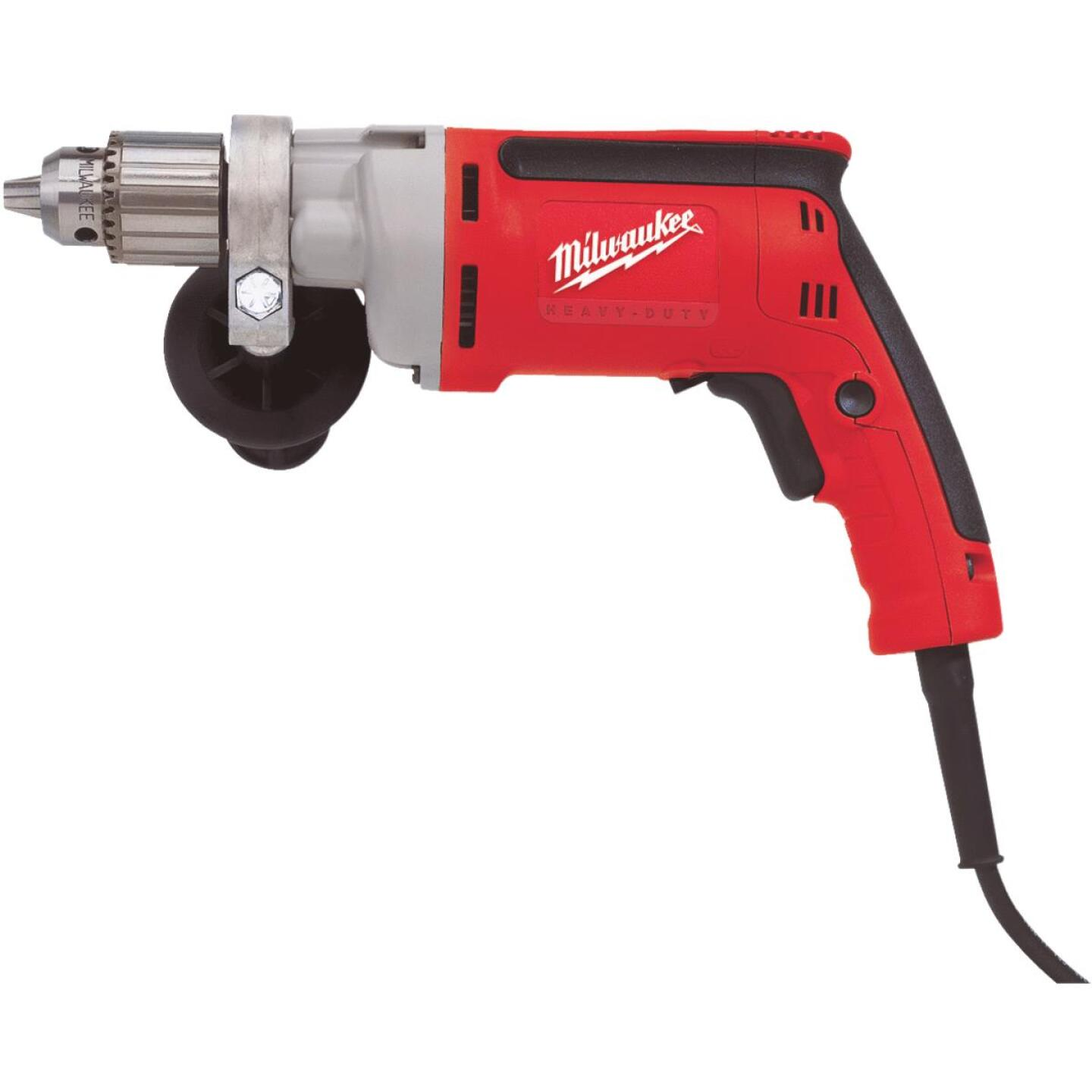 Milwaukee Magnum 1/2 In. 8-Amp Keyed Electric Drill with Tactile Grip Image 1