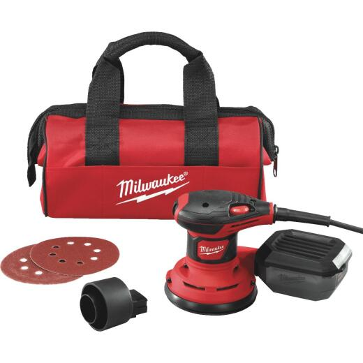 Milwaukee 5 In. 3.0A Finish Sander