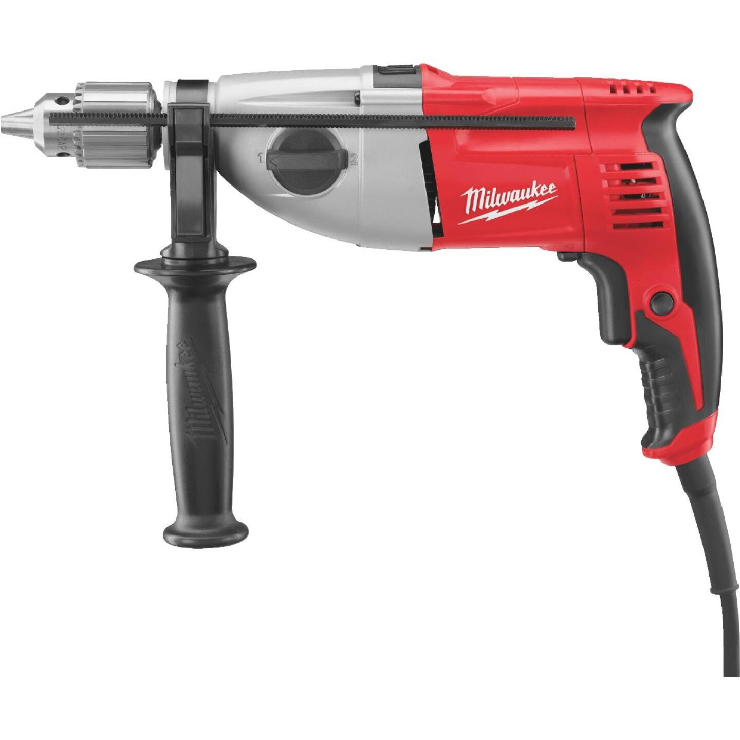 Milwaukee 1/2 In. Keyed 7.5-Amp Dual Torque Electric Hammer Drill Image 1