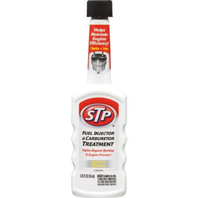 STP 5.25 Fl. Oz. Fuel Injector and Carburetor Fuel System Cleaner