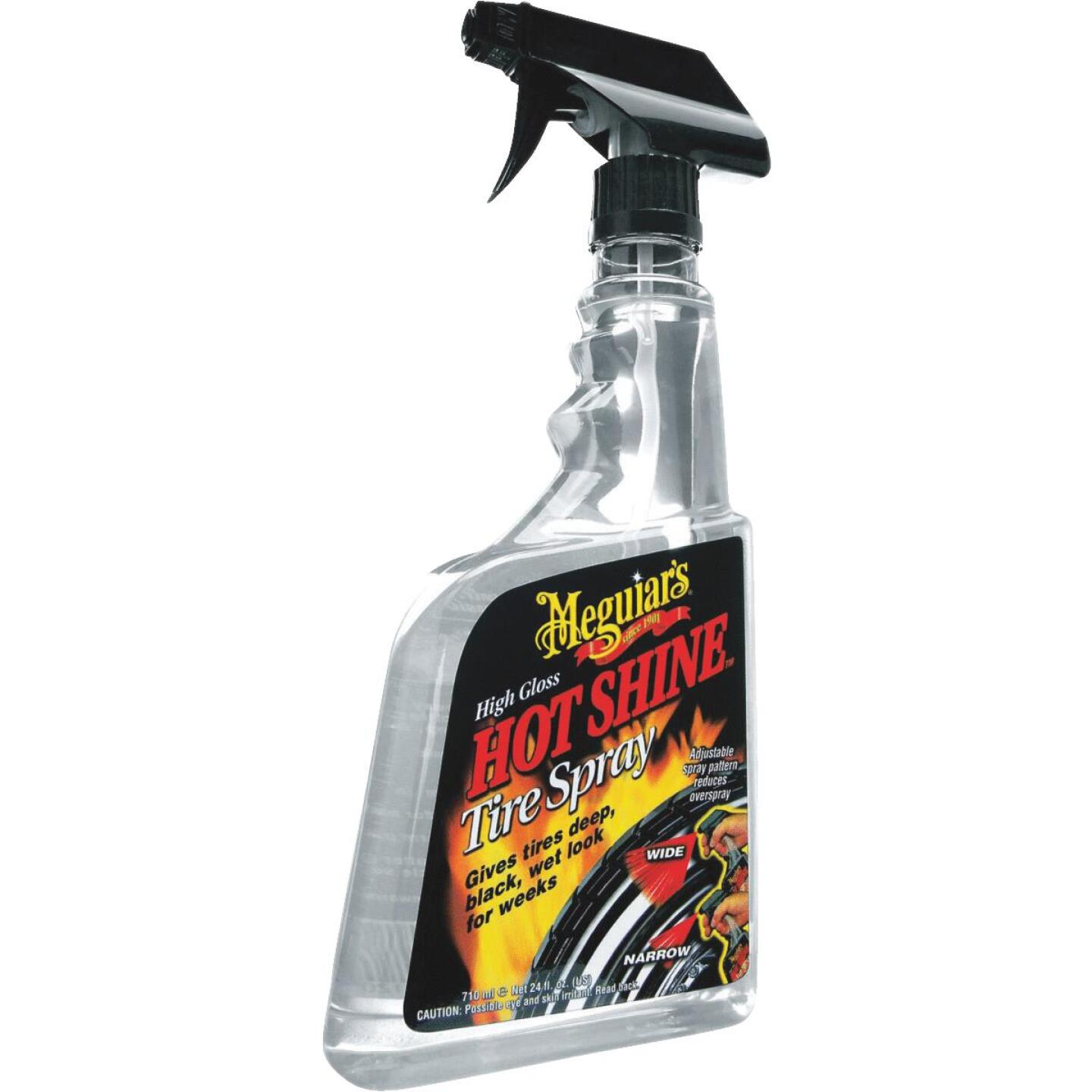 Meguiars Hot Shine High Gloss 24 Oz. Trigger Spray Tire Shine Image 1