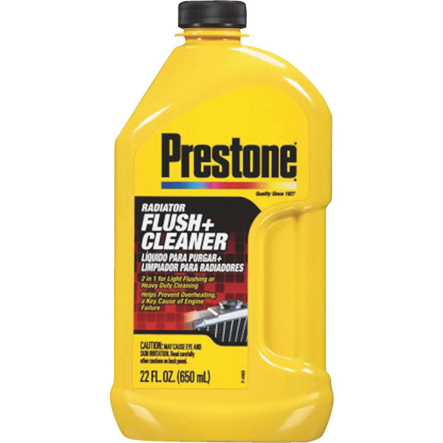 Prestone One-Step Process 22 fl oz  Radiator Flush Image 1