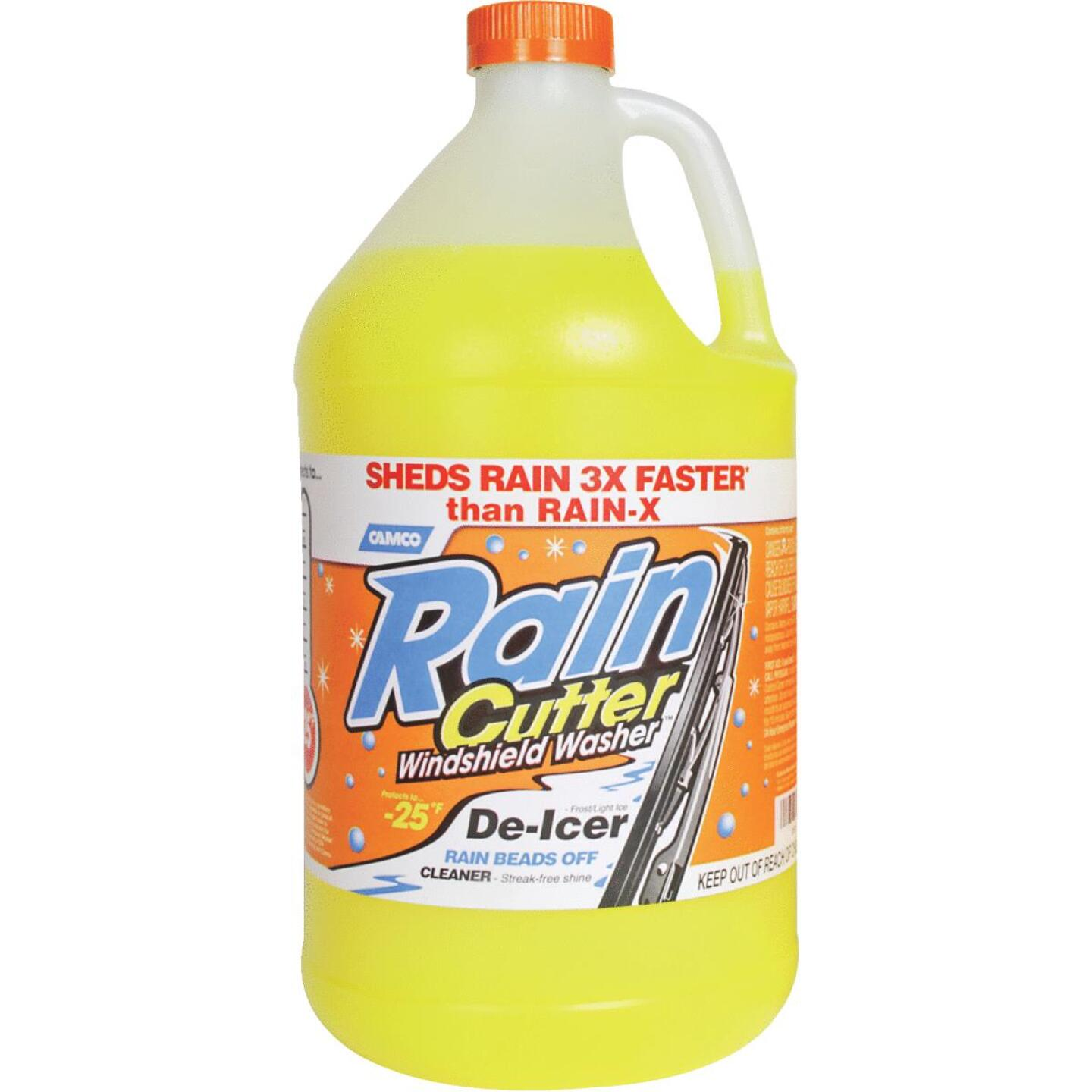 Rain Cutter 1 Gal. -25 Deg F Temperature Rating Windshield Washer Fluid with De-Icer Image 1