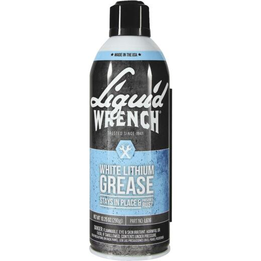 Liquid Wrench 10.25 Oz. Aerosol White Lithium Grease