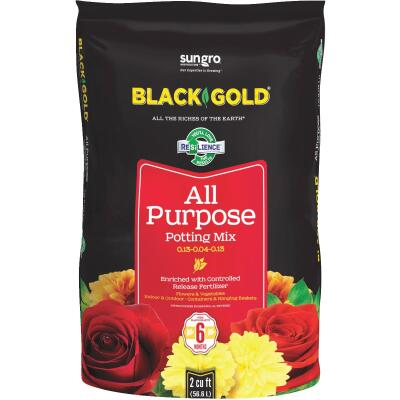 Black Gold 2 Cu. Ft. 47-1/2 Lb. All Purpose Potting Soil