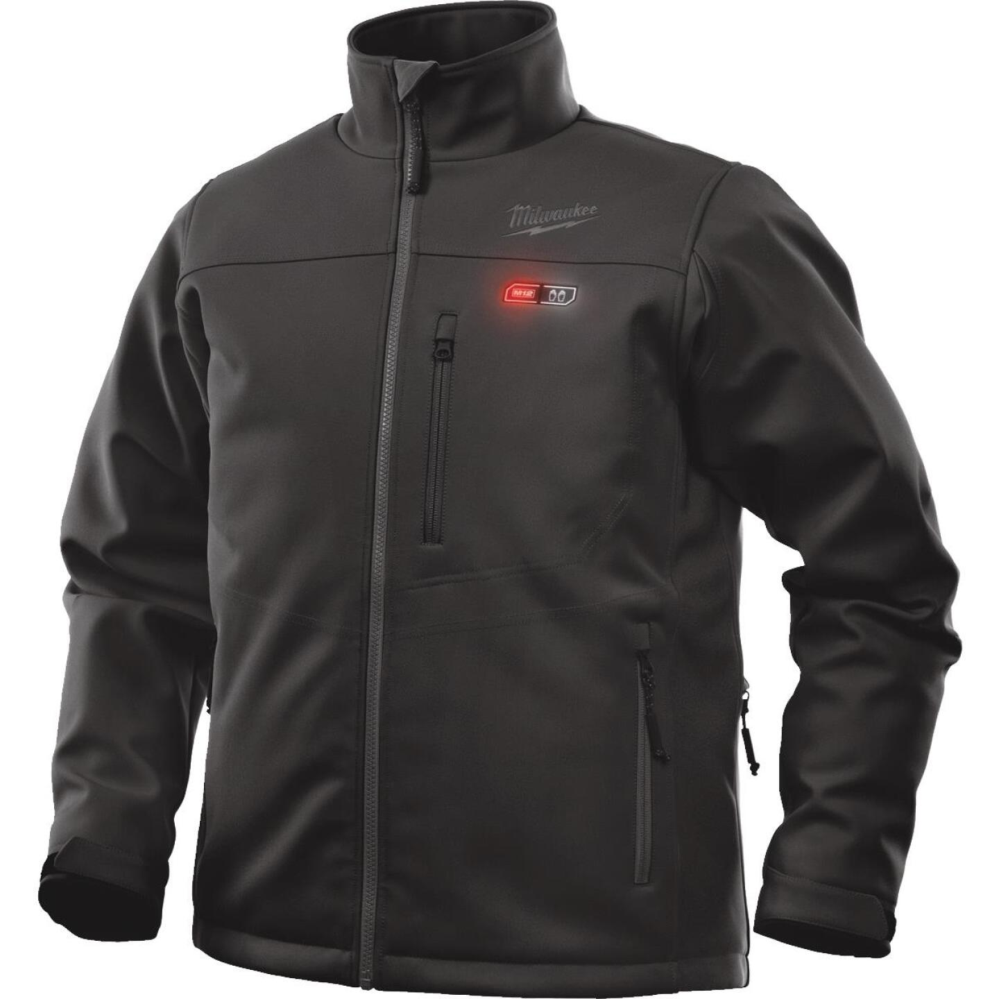Milwaukee M12 2XL Black Cordless Heated Jacket Kit Image 1