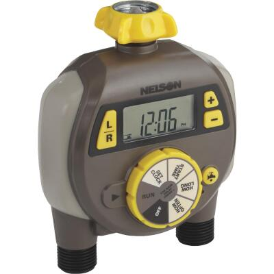 Nelson Electronic 2-Zone Water Timer