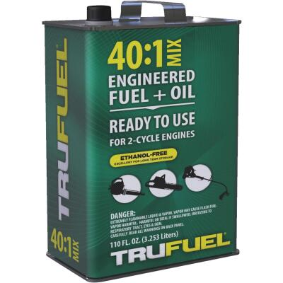 TruFuel 110 Oz. 40:1 Ethanol-Free Small Engine Fuel & Oil Pre-Mix