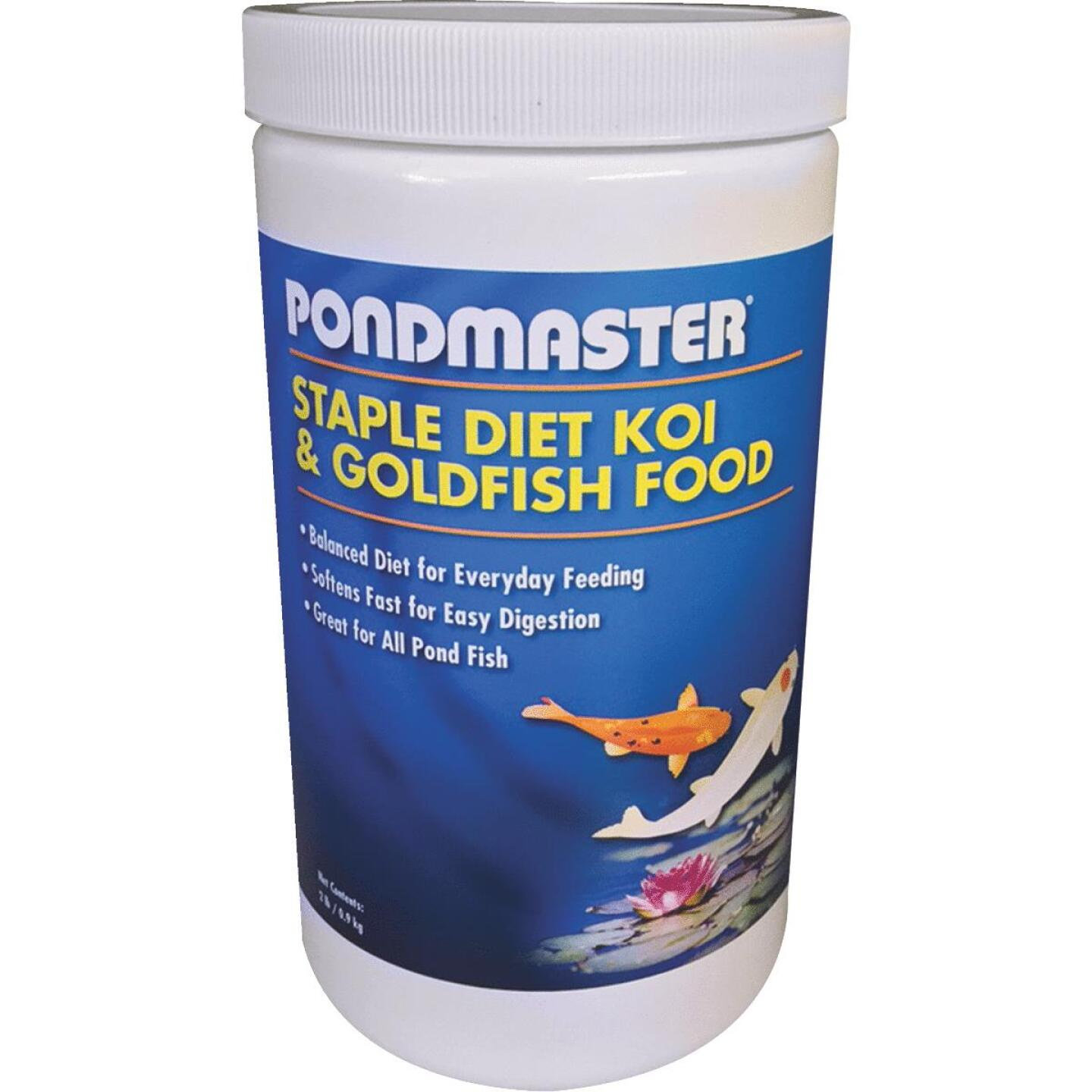 PondMaster 2 Lb. Staple Diet Koi & Goldfish Pond Fish Food Image 1