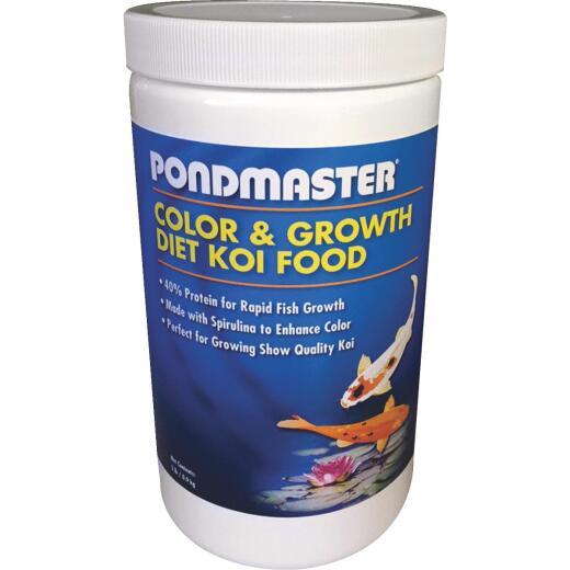 PondMaster 2 Lb. Color & Growth Diet Koi Pond Fish Food