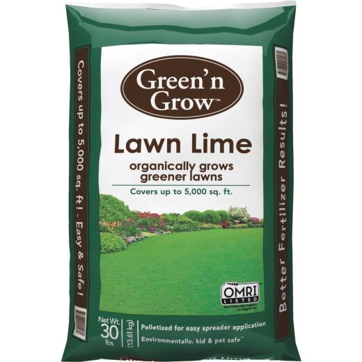 Green N Grow 30 Lb. 5000 Sq. Ft. Coverage Lawn Lime