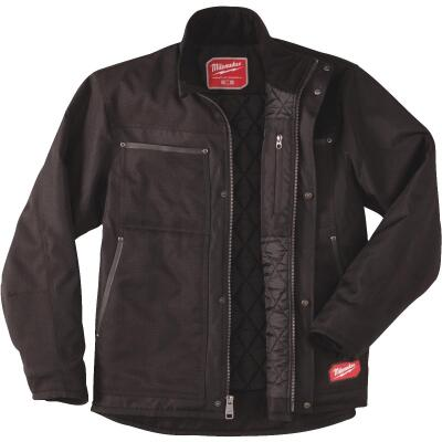 Milwaukee Gridiron Large Black Polyester Jacket
