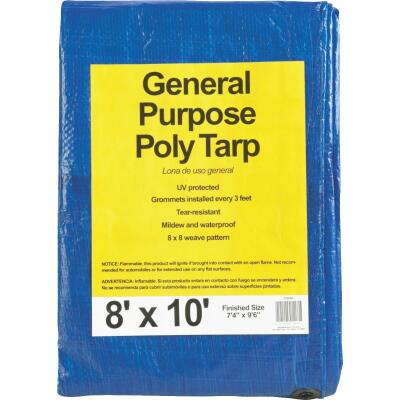 Do it Blue Woven 8 Ft. x 10 Ft. General Purpose Tarp