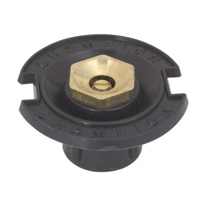 Champion Full Circle 1/2 In. FPT Deluxe Plastic Flush Head Sprinkler with Brass Nozzle