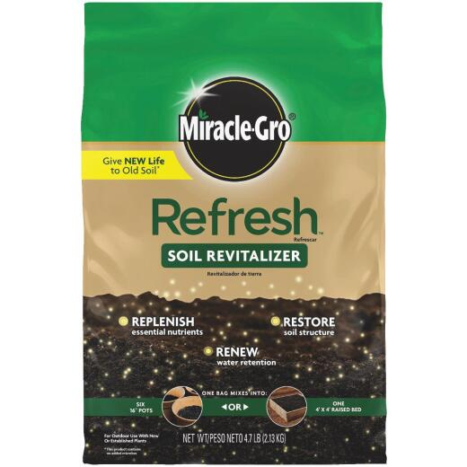Miracle-Gro Refresh 4.7 Lb. Soil Revitalizer