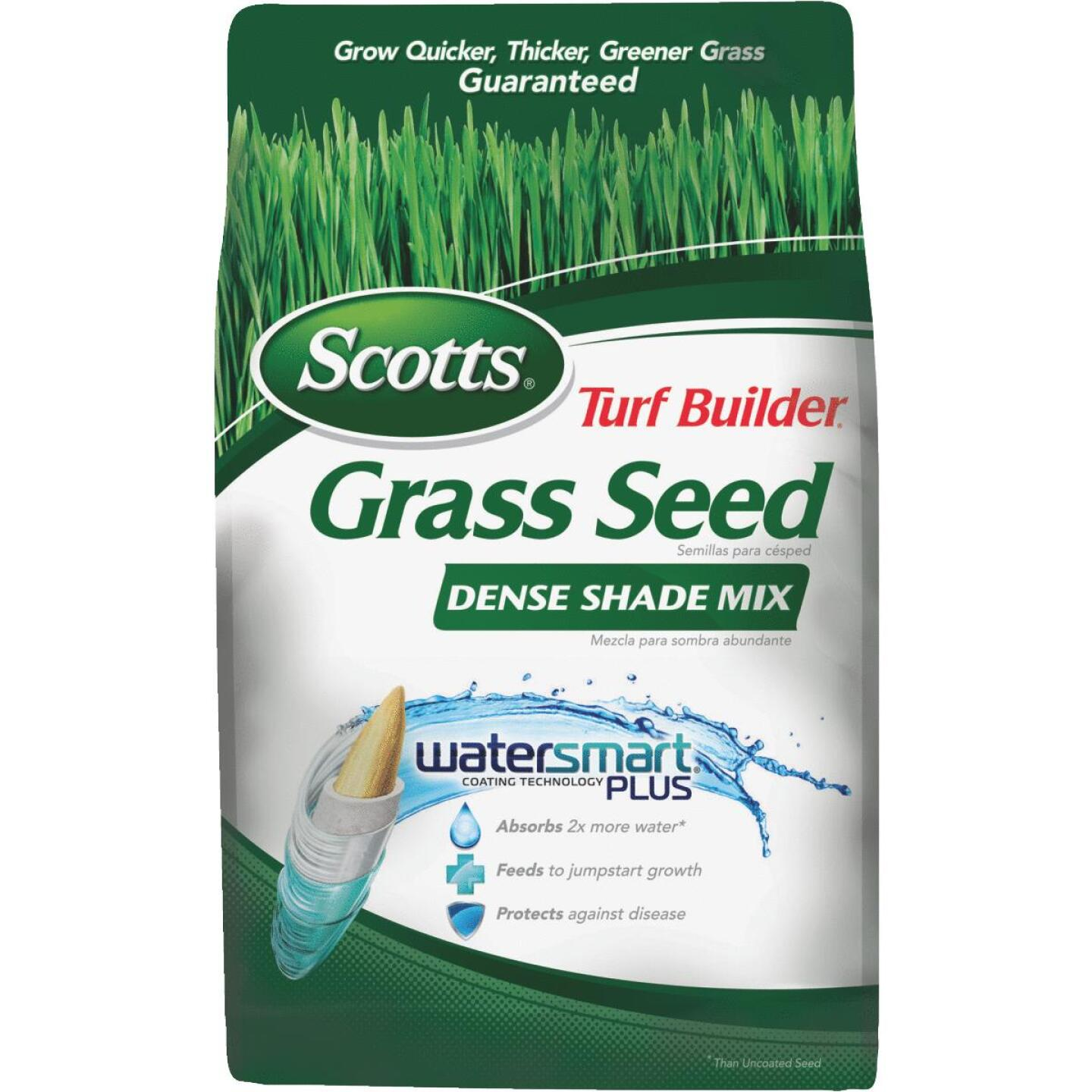 Scotts Turf Builder 3 Lb. Up To 750 Sq. Ft. Coverage Dense Shade Grass Seed Image 1