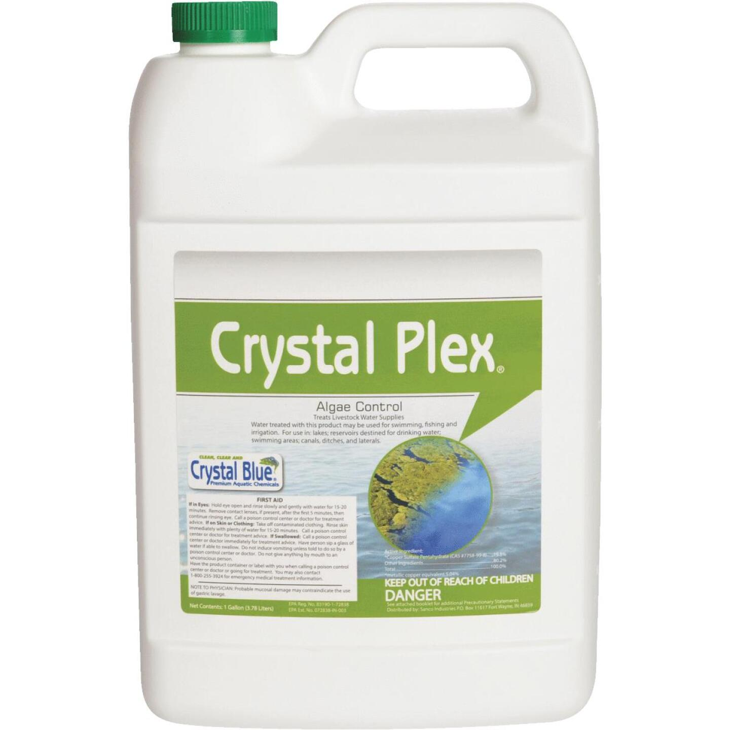 Crystal Plex 1 Gal. Liquid 1-Acre Coverage Area Algae Control Step 3 Gallon Image 1